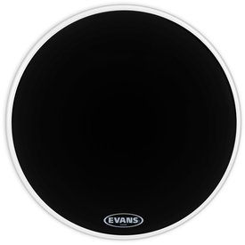 "Evans Evans Resonant Black 18"" Bass Drumhead"