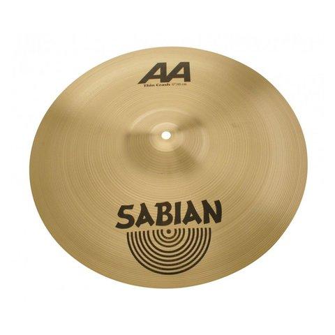 """Sabian AA 17"""" Thin Crash Cymbal"""