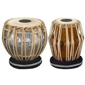 Meinl Meinl Tabla 5 1/2 Dayan & 8 1/2 Baya, with bag