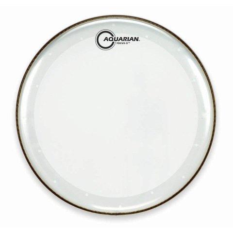 """Aquarian Focus-X Series 18"""" Drumhead - Clear"""