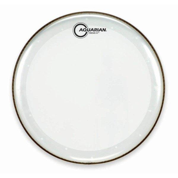 """Aquarian Aquarian Focus-X Series 18"""" Drumhead - Clear"""