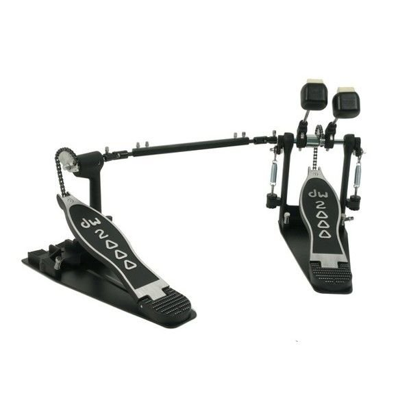 DW DW 2000 Series Double Bass Drum Pedal