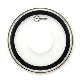 "Aquarian Aquarian 18"" (2-Ply) Bass Drumhead with Power Dot and Glue"