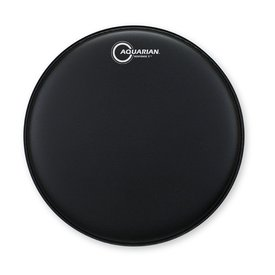 "Aquarian Aquarian Response 2 Series Texture Coated 13"" (2-Ply) Drumhead - Black"