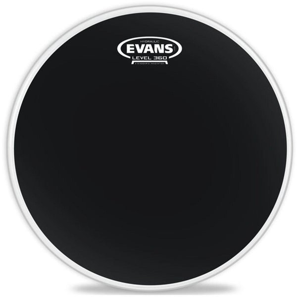 "Evans Evans Hydraulic Black Coated 14"" Drumhead"