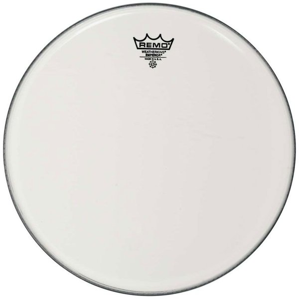 "Remo Remo Smooth White Emperor 15"" Diameter Batter Drumhead"