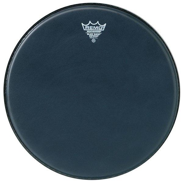 """Remo Remo Black Suede Emperor 8"""" Diameter Batter Drumhead"""