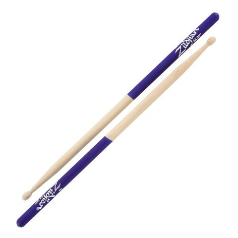 Zildjian 5A Dip Series Wood Purple Drumsticks