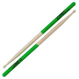 Zildjian Zildjian 5B Dip Series Maple Green Drumsticks