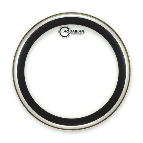 "Aquarian 16"" (2-Ply) Drumhead with Glue"