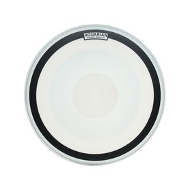 "Aquarian Aquarian Impact III Series Texture Coated 20"" (1-Ply) Drumhead with Power Dot and Ring"