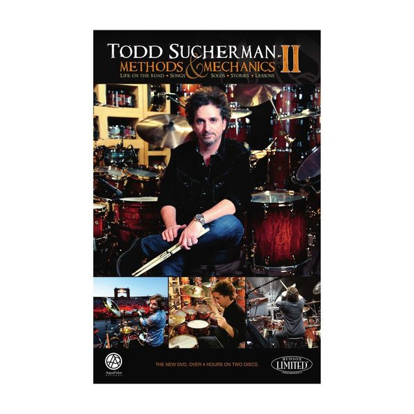 Hal Leonard Todd Sucherman: Methods and Mechanics Volume II DVD Set