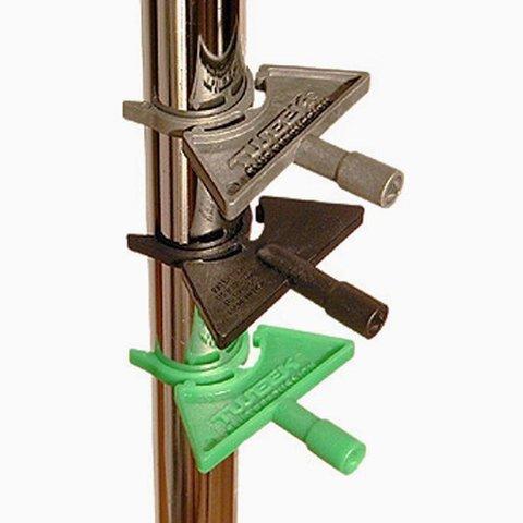 Slug Tweek Clip-On Drum Key 4 Pack; Green