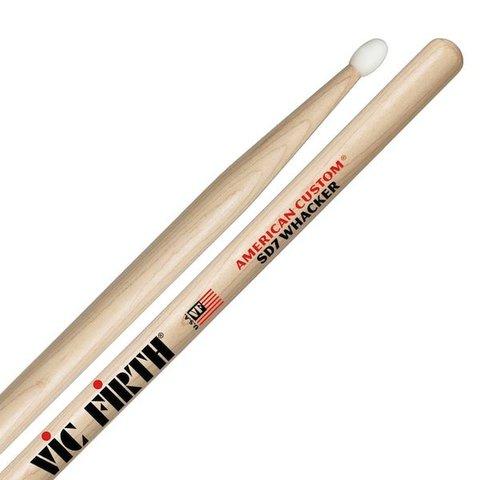 Vic Firth American Custom - SD7 Whacker (Nylon Tip) Drumsticks