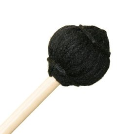 "Mike Balter Mike Balter SC2 15 7/8"" Medium Soft Black Yarn Suspended Cymbal Mallets with 11/32"" without Grip Handles"