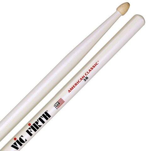 Vic Firth American Classic® 5B w/ WHITE FINISH