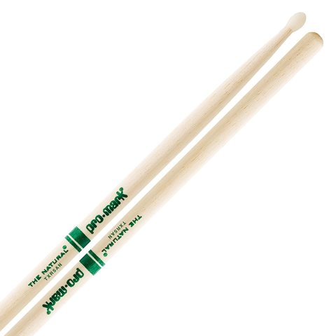 "Promark Hickory 5A Nylon Tip ""Natural"" Drumsticks"