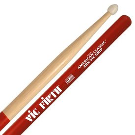 Vic Firth Vic Firth American Classic - 2BN - Nylon Tip Drumsticks with Vic Grip