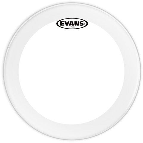 """Evans EQ4 Clear 18"""" Bass Drumhead"""