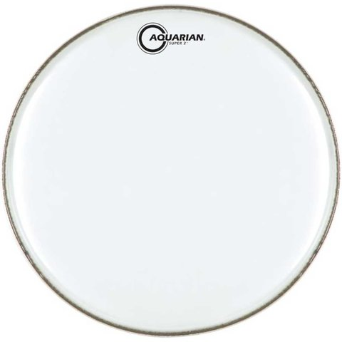 "Aquarian Super-2 Series Texture Coated 18"" (2-Ply) Drumhead"