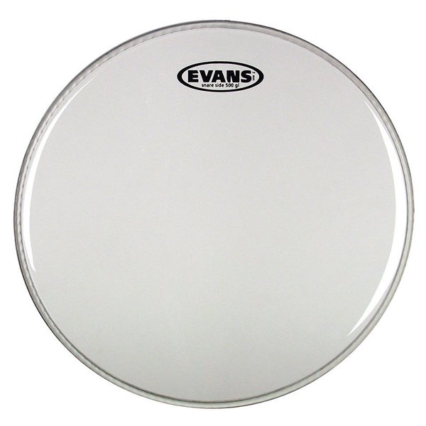 "Evans Evans Glass 500 Snare Side 14"" Drumhead"