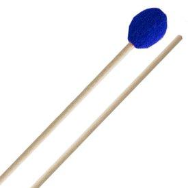 Innovative Percussion Innovative Percussion Very Hard Marimba Mallets - Electric Blue Yarn - Birch
