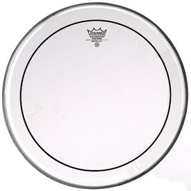 "Remo Remo Clear Pinstripe 24"" Diameter Bass Drumhead"