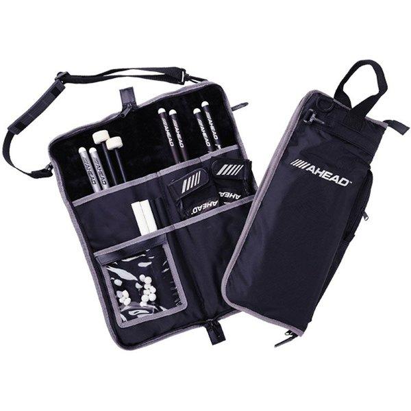 Ahead Ahead Deluxe Stick Bag (Black with Black Trim, Plush interior)