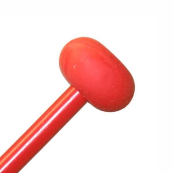 """Mike Balter Mike Balter BB9 Balter Basics 16 1/8"""" Soft Red Rubber Marimba Mallets with Red Birch Handles"""