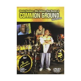Alfred Publishing Dennis Chambers, Billy Cobham and Tony Royster Jr.: Common Ground DVD