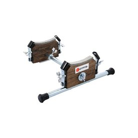 "Danmar Tom Kick Riser, Converts 14""-18"" Tom to Kick Drum - Black Walnut"
