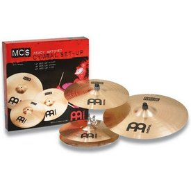 "Meinl Meinl MCS Cymbal Set, 14"" Hi Hat/16"" Crash/20""Ride, incl.upgraded Classics 16"" China"