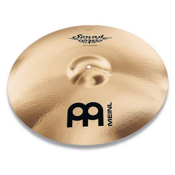 """Meinl Meinl Soundcaster Custom 21"""" Powerful Ride Cymbal"""