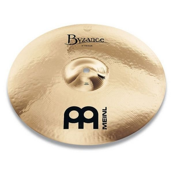 "Meinl Meinl Byzance Brilliant 14"" Thin Crash Cymbal"