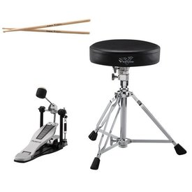 Roland Roland DAP-3X V-Drums Accessory Package - kick pedal, throne & sticks