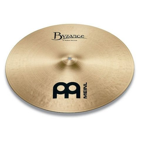 """Meinl Byzance Traditional 17"""" Medium Thin Crash Cymbal"""