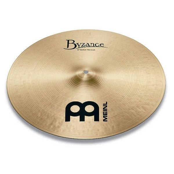 """Meinl Meinl Byzance Traditional 17"""" Medium Thin Crash Cymbal"""