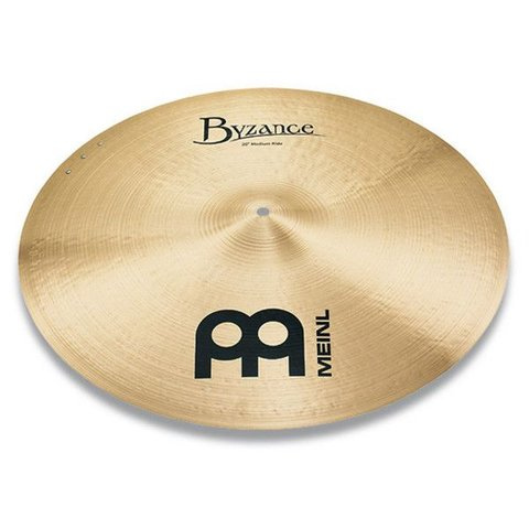 "Meinl Byzance Traditional 20"" Medium Sizzle Ride Cymbal"