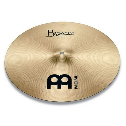 "Meinl Byzance Traditional 21"" Medium Crash Cymbal"