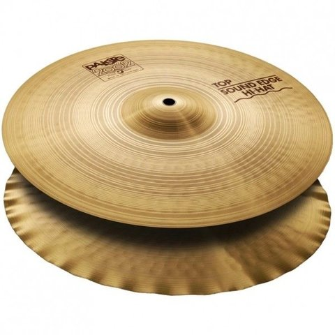 "Paiste 2002 Classic 15"" Sound Edge Hi Hat Cymbals"
