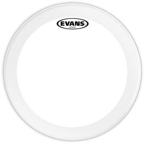 """Evans EQ3 Clear 20"""" Bass Drumhead"""
