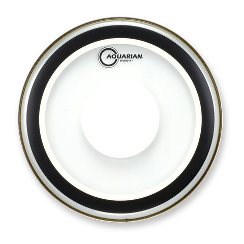 "Aquarian Studio-X Series 13"" Drumhead with Power Dot"