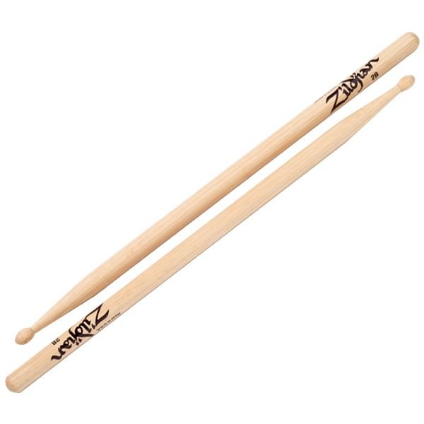 Zildjian Zildjian 2B Wood Natural Drumsticks
