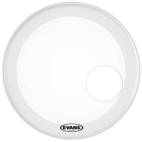 """Evans EQ3 Resonant Smooth White 24"""" Bass Drumhead"""