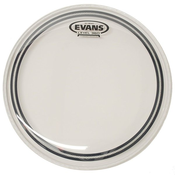 "Evans Evans EC Resonant Clear 13"" Tom Drumhead"