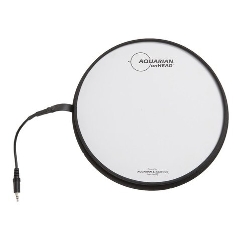"Aquarian onHead FSR Portable Electronic Drumsurface 16"" Bundle Pack with Inbox"