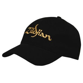 Zildjian Zildjian Baseball Cap - Black with Gold Logo