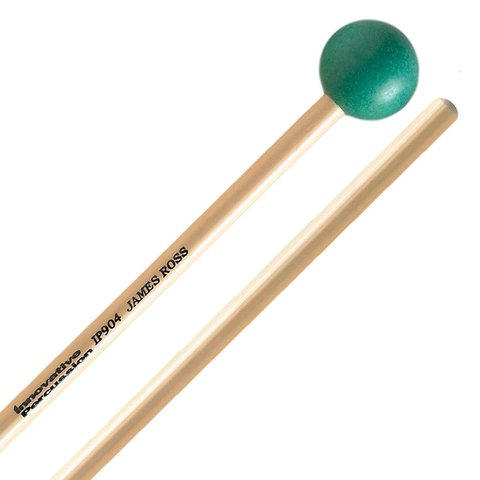 Innovative Percussion Hard Xylophone / Glockenspiel Mallets - Green - Rattan