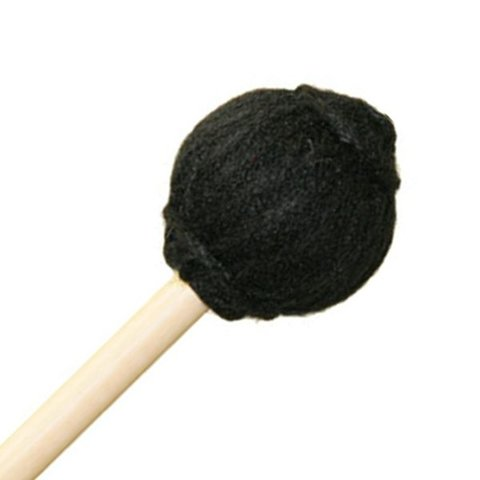 """Mike Balter SC1 15 7/8"""" Medium Hard Black Yarn Suspended Cymbal Mallets with 11/32"""" without Grip Handles"""