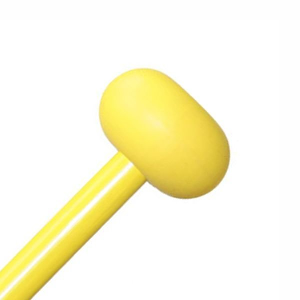 "Mike Balter Mike Balter BB7 Balter Basics 16 1/8"" Hard Yellow Rubber Xylophone Mallets with Yellow Birch Handles"